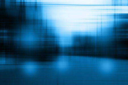 blue light: Blue blurred abstract background