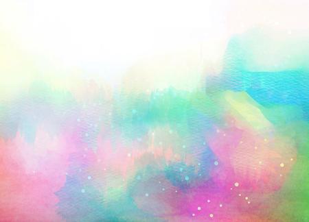 Résumé aquarelle colorée pour le fond. Banque d'images