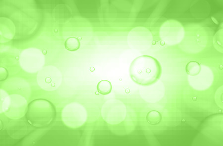 soap suds: Soap bubbles on green blurred background.