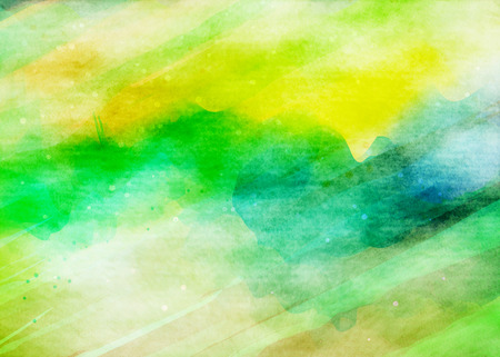 of color: Abstract colorful watercolor for background.