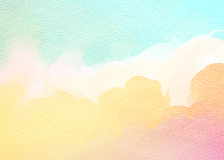 color: Abstract colorful watercolor for background.