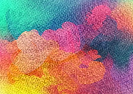 psyco: Abstract watercolor background.