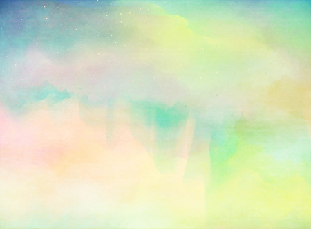 soft colors: Abstract colorful watercolor for background.