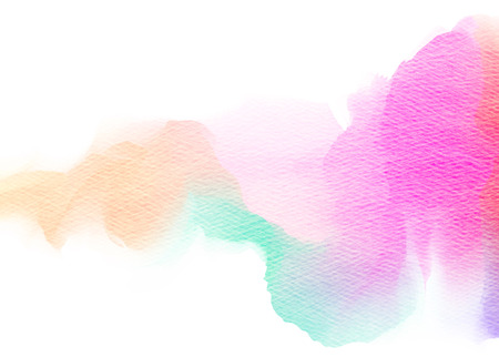 Abstract colorful watercolor background Stockfoto