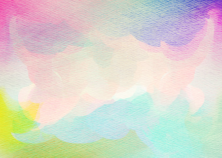 color splash: Abstract colorful watercolor background. Digital art painting.