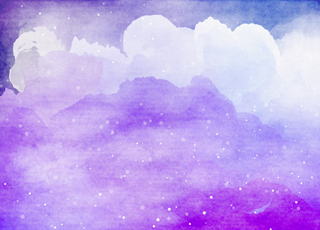stary: Abstract colorful watercolor for background.