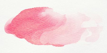 splotches: Colorful watercolor spot. Stock Photo