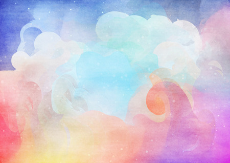 watercolour background: Abstract colorful watercolor for background.