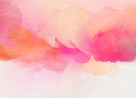 color paper: Abstract colorful watercolor for background.