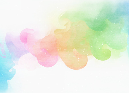 colors background: Abstract colorful watercolor for background.