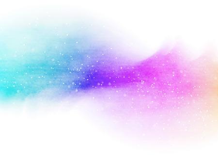 Abstrakte bunte Aquarell für Hintergrund. Standard-Bild - 45473439