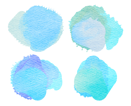 blemish: Colorful watercolor painted background.  Abstract digital painting.