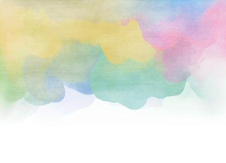 Acquerello colorato astratto per lo sfondo. Astratto sfondo arte digitale.