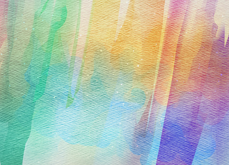 overflowing: Abstract colorful watercolor for background. Abstract digital art background. Stock Photo