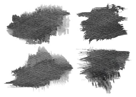 dabs: Watercolor Paint Splattered Shape. Grunge Background Texture. Distress Texture. Grunge Texture. Brush Stroke. Digital art painting. Stock Photo