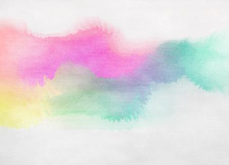 Acuarela de colores. Fondo de la textura del grunge. pintura del arte digital.