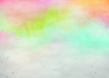 multicolor background: Colorful Watercolor. Grunge texture background. Digital art painting.