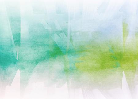 Abstracte kleurrijke aquarel voor achtergrond. Het digitale kunst schilderen. Stockfoto