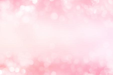 抽象的なピンク トーン ライト背景。背景をぼかし。 写真素材