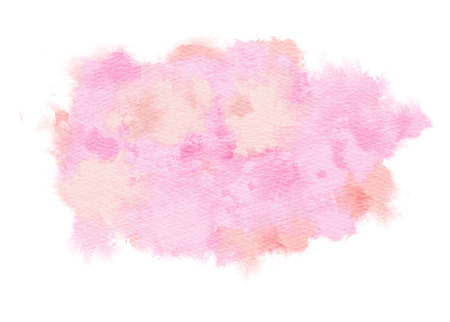 abstract pink: Abstract watercolor splash. Watercolor drop. Digital art painting. Stock Photo