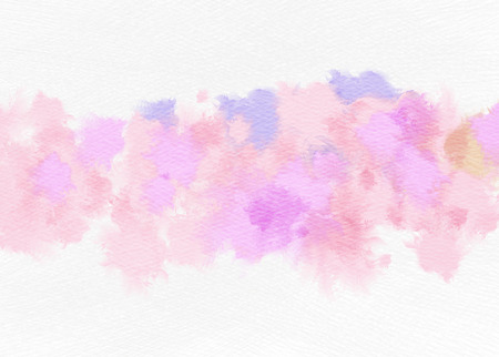Abstract watercolor background. Abstract colorful digital art painting. Stock Photo