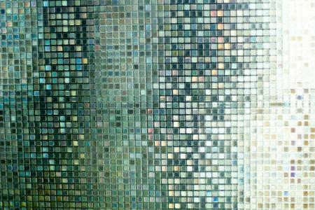 Glasmozaiek Voor Badkamer : Blauw glas mozaïek in de badkamer royalty vrije foto plaatjes
