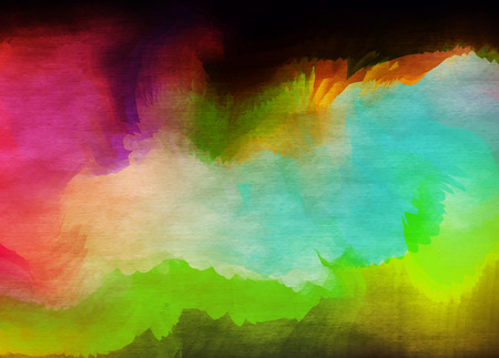 psyco: Abstract watercolor background. Abstract colorful digital art painting. Stock Photo