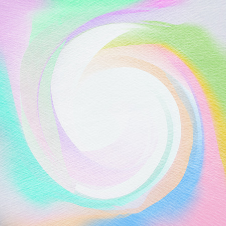 abstract swirls: Abstract watercolor background. Abstract colorful digital art painting. Stock Photo