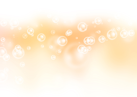 air bubbles: Air bubbles on colorful background. Stock Photo