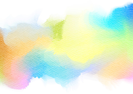 Abstract watercolor background. Digital art painting.