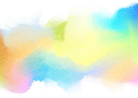 Abstracte aquarel achtergrond. Het digitale kunst schilderen.