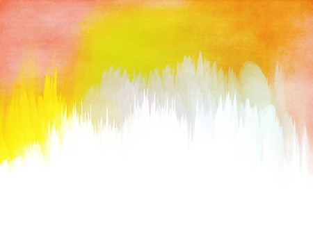Abstract colorful watercolor for background. Digital art painting.