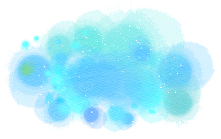 Abstract watercolor splash. Digital art painting.Can put your Design or text. Stock Photo