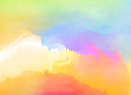 colors paint: Abstract colorful watercolor for background. Digital art painting.