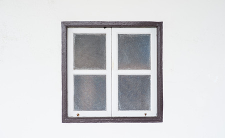 stained glass panel: windows wall