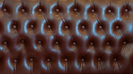 luxuriously: classic  leather sofa Stock Photo