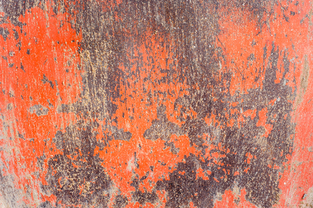 oxidate: rust iron with red color Stock Photo