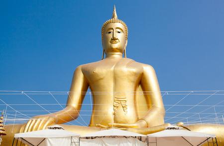 buddah: buddah in Thai temple Wat Bang-Jark