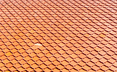 roof texture: close up of brown roof texture Stock Photo