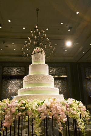 Wedding cake in Ballroom