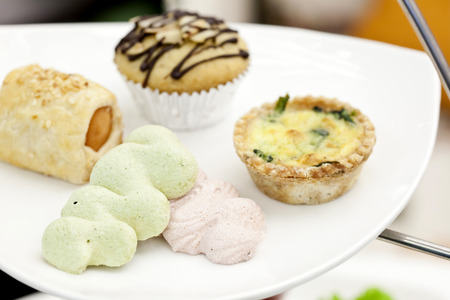 Dessert for high tea photo