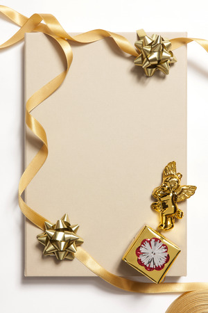 ribbin: Ornament background for Christmas and new year event