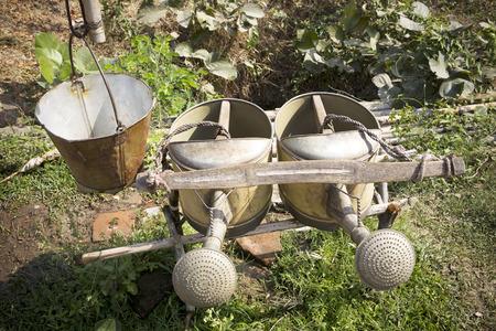Twin power watering can DIY by gardener photo