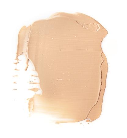 Make up base paint on background