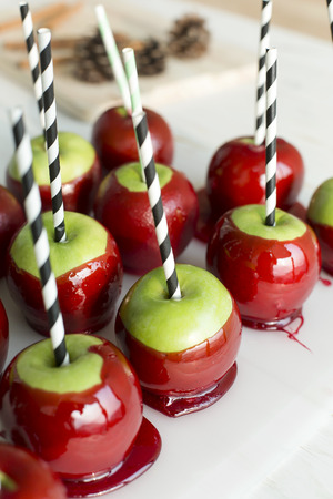 taffy: Apple candyrow of apple candies