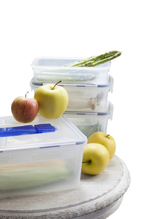 storage box: Apple and vegetable and Storage box