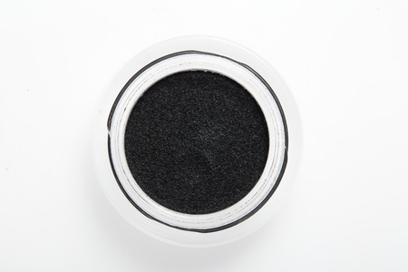 eye liner: Eye liner make up in container on background
