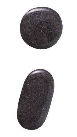 vanish: Black color with glitter nail vanish in abstract shape