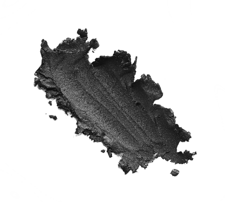 eye liner: Eye liner make up in abstract shape on background