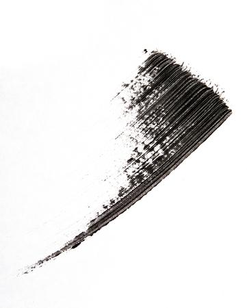 schöne augen: Mascara-B�rstchen auf Hintergrund